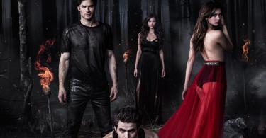 The Vampire Diaries Season 5 TV show poster