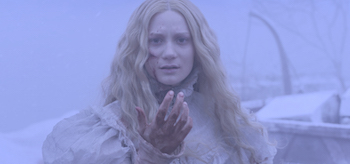 Mia Wasikowska Bleeding Crimson Peak