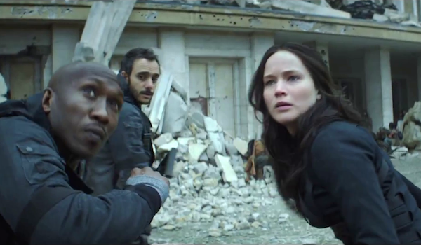 Jennifer Lawrence Mahershala Ali The Hunger Games Mockingjay Part 2