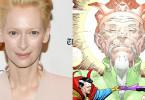 Tilda Swinton The Ancient One Doctor Strange