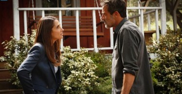 Melina Kanakaredes Jeffrey Dean Morgan Extant Arms & the Humanich