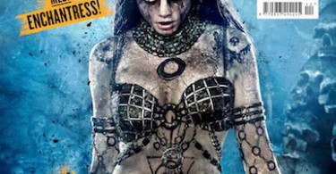 Cara Delevingne Enchantress Suicide Squad Empire Cover