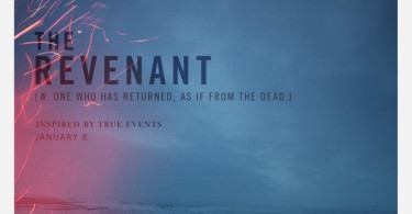 The Revenant Movie Poster Arrives