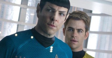 Chris Pine Zachary Quinto Star Trek Beyond