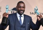 Idris Elba Statues Screen Actors Guild Awards 2016