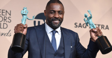 Idris Elba Statues Screen Actors Guild Awards 2016