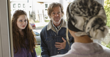 William H. Macy Emma Kenney Shameless Going Once Going Twice