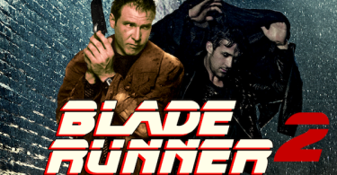 Harrison Ford Ryan Gosling Blade Runner 2 Logo