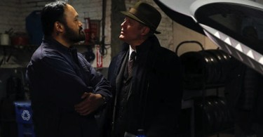 James Spader Orville Mendoza The Blacklist