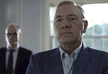 Kevin Spacey Michael Kelly House of Cards Season 4