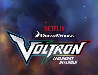 Voltron: Legendary Defenders Poster