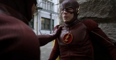 The Flash Grant Gustin Flash Back