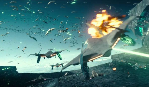 Earth Alien Dogfight Independence Day: Resurgence