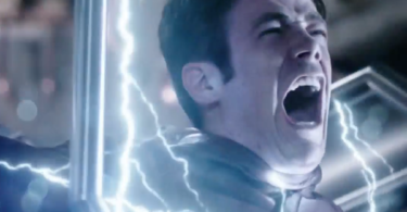 Grant Gustin Rupture The Flash Trailer