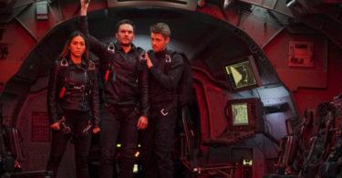 Natalia Cordova-Buckley Juan Pablo Raba Luke Mitchell Agents of S.H.I.E.L.D. The Team