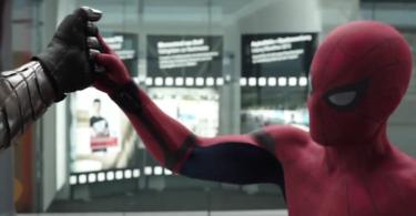 Sebastian Stan Tom Holland Captain America: Civil War