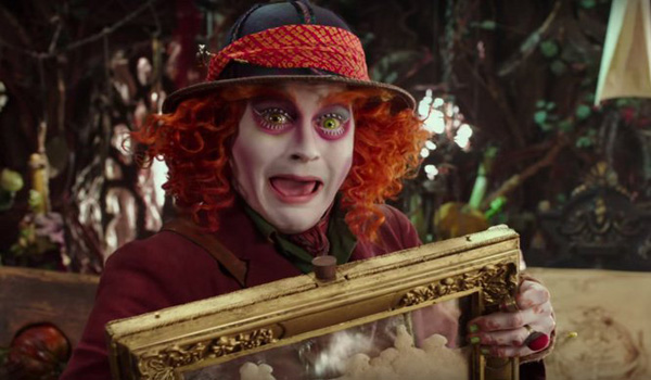 Video Movie Review Alice Through The Looking Glass 2016 Makes No Sense, Even By