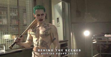 Jared Leto baseball Bat Shirtless Suicide Squad