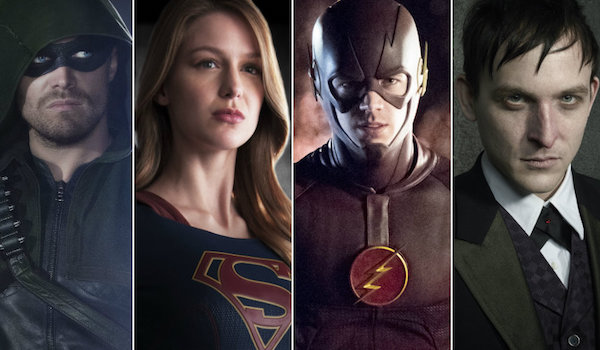 The Flash, Arrow, Supergirl, and Legends of Tomorrow to