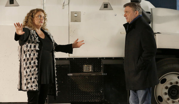 Aida Turturro Nathan Lane The Blacklist