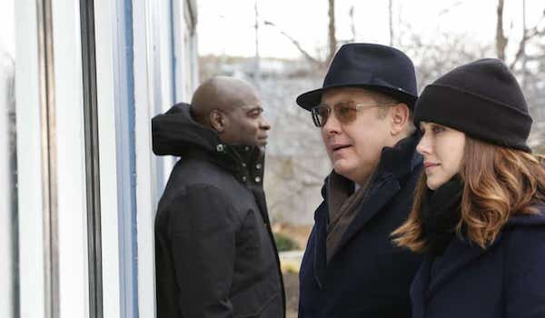 Hisham Tawfiq James Spader Megan Boone The Blacklist