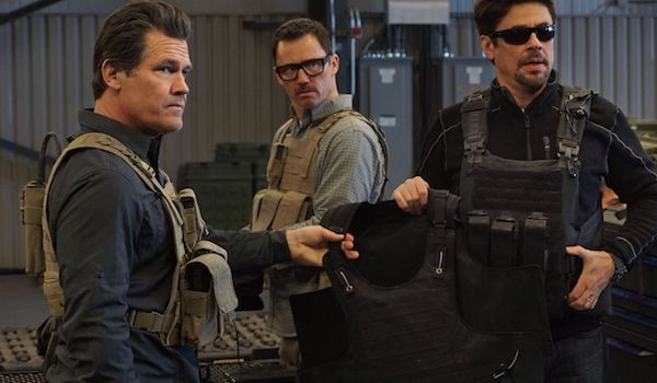 osh Brolin Benicio Del Toro Jeffrey Donovan Sicario Day of the Soldado