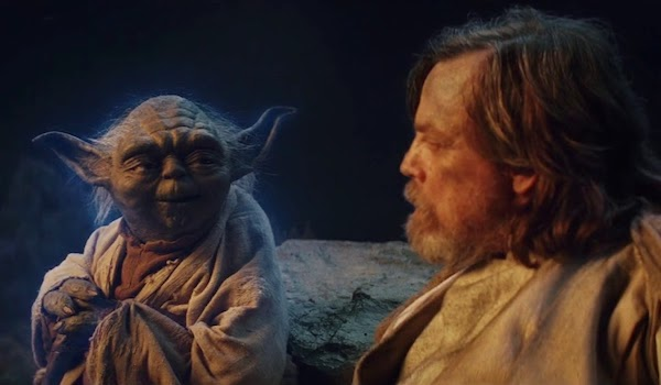 Frank Oz Mark Hamill Sytar Wars The Last Jedi