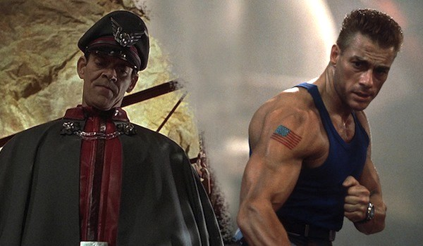 Jean Claude Van Damme Raul Julia Street Fighter