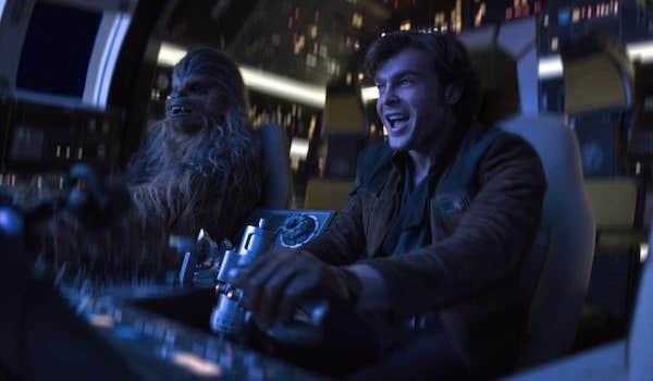 Alden Ehrenreich Joonas Suotamo Solo A Star Wars Story
