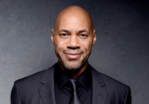 John Ridley Smiling Suit Tie