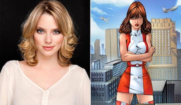 April Bowlby Rita Farr Elasti-Woman Comic Book