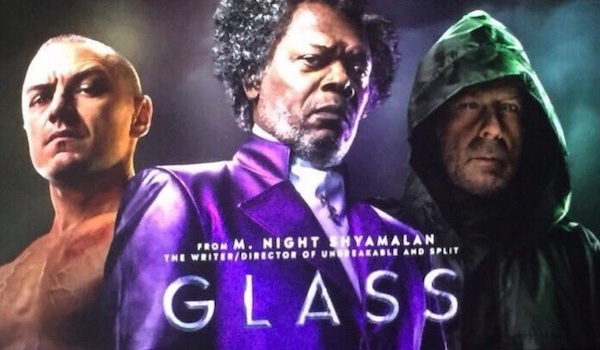 Glass Movie Poster Banner