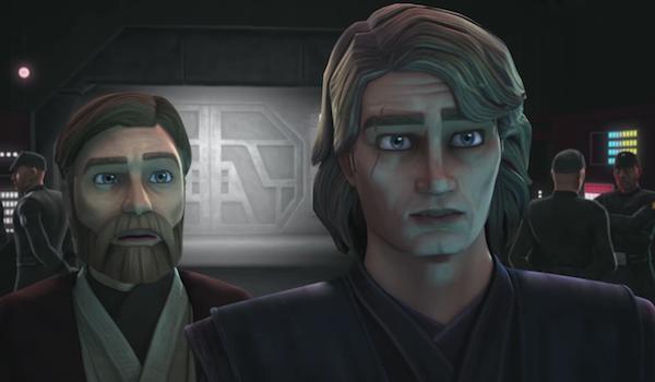 Obie-wan Kenobie Anakin Skywalker Star Wars Clone Wars