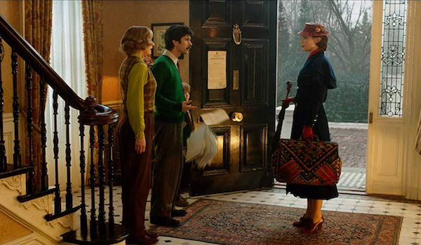 Emily Mortimer Ben Whishaw Emily Blunt Joel Dawson Mary Poppins Returns
