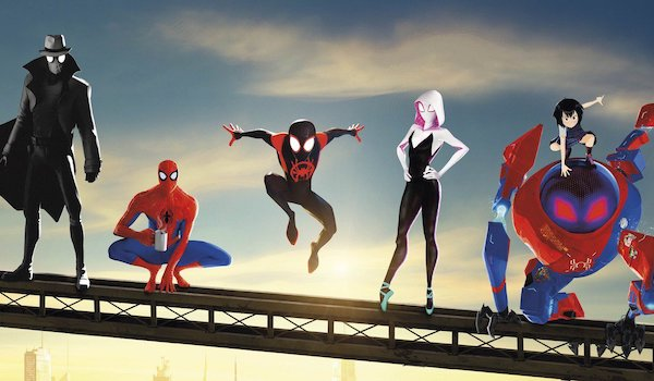 Spider-Man: Into the Spider-Verse Movie Poster Banner