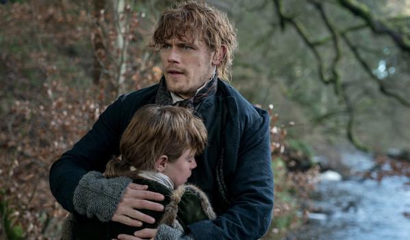 Sam Heughan Oliver Finnegan Outlander Blood of My Blood