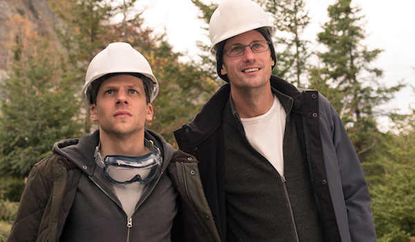 Jesse Eisenberg Alexander Skarsgård The Hummingbird Project