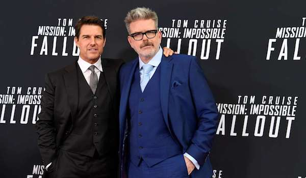 Tom Cruise Christopher McQuarrie Mission Impossible Fallout Premiere
