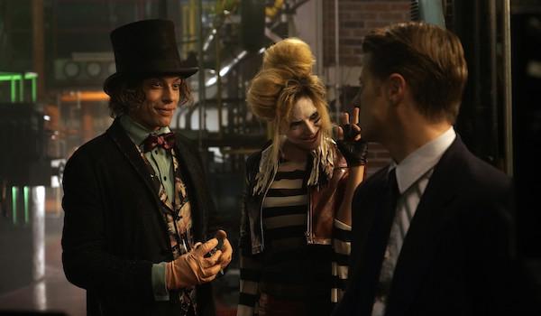 Benedict Samuel Francesca Root-Dodson Ben McKenzie Gotham Ace Chemicals