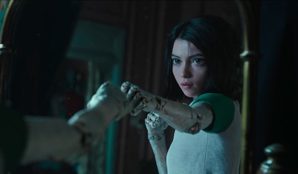 Rosa Salazar Alita Battle Angel