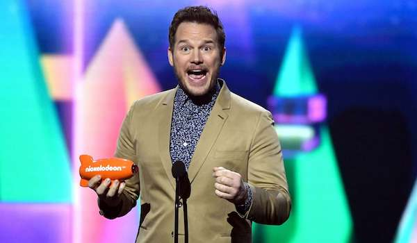 Chris Pratt Nickelodeon's Kids' Choice Awards 2019