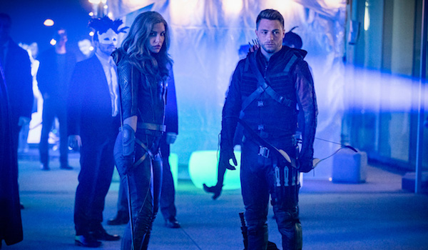 Juliana Harkavy Colton Haynes Arrow Star City 2040