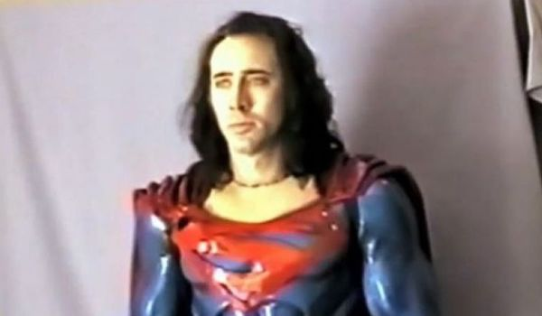 Nicolas Cage The Death of Superman Lives