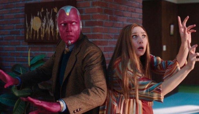 WANDAVISION Mid-Season Trailer: Elizabeth Olsen & Paul Bettany Get a Look Outside their TV-like World [Disney+]   FilmBook