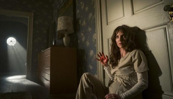 Annabelle Wallis Against Door Malignant