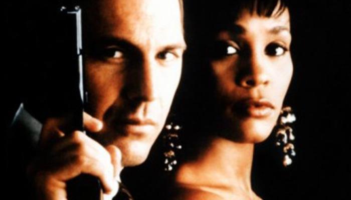 Kevin Costner Whitney Houston The Bodyguard