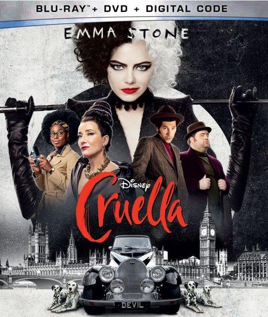 Cruella Bluray Cover