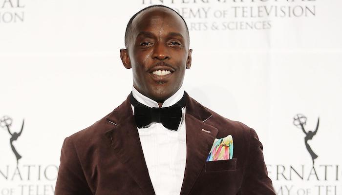 Michael K Williams Suit Tie Smiling Red Carpet
